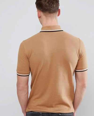 Twin Tipped Polo in Camel