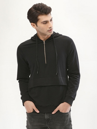 Utility Patch Pocket Sweatshirt Hoodies