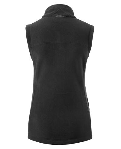 Women-Black-Polar-Fleece-Vest
