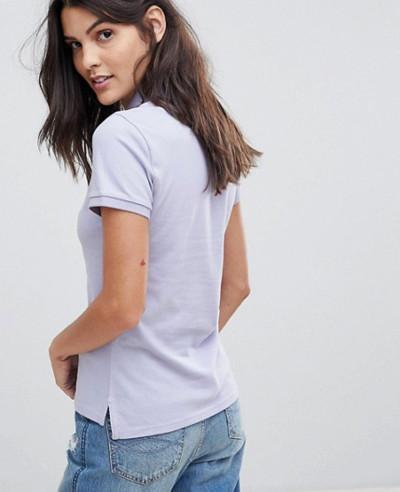 Women-Grey-Classic-Polo-Shirt