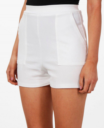 Women-High-Waisted-Pocket-Short