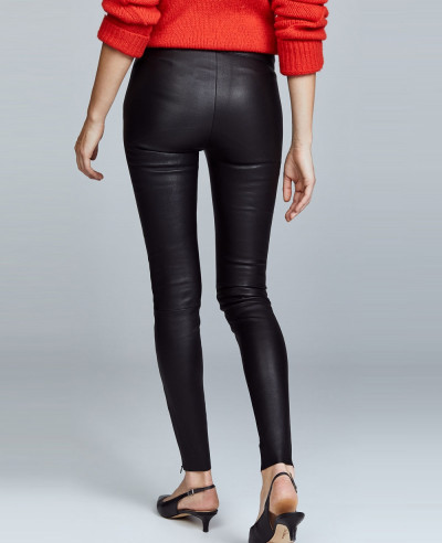 Women-Moto-Biker-Leather-Pants
