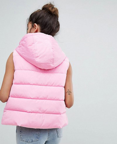 Women-Pink-Fashion-Style-Padded-Gilet-Jacket