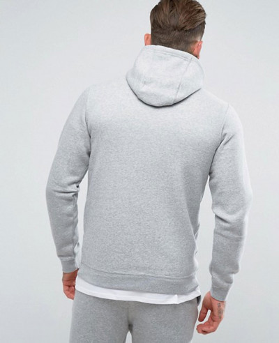 Zip-Up-Hoodie-With-Futura-Logo-In-Grey