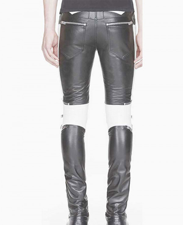 100%-New-Genuine-Sheep-Napa-Leather-Men-Designer-Biker