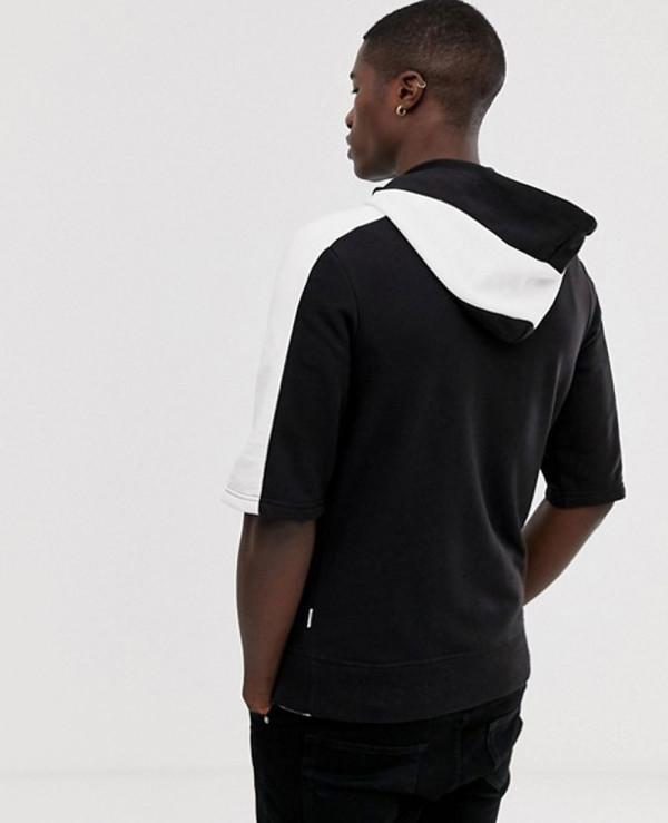 2019 Branded Men Half Sleeve Hoodie