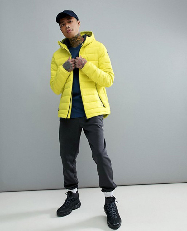 Activewear-Tube-Weave-Puffer-Jacket-in-Neon-Yellow