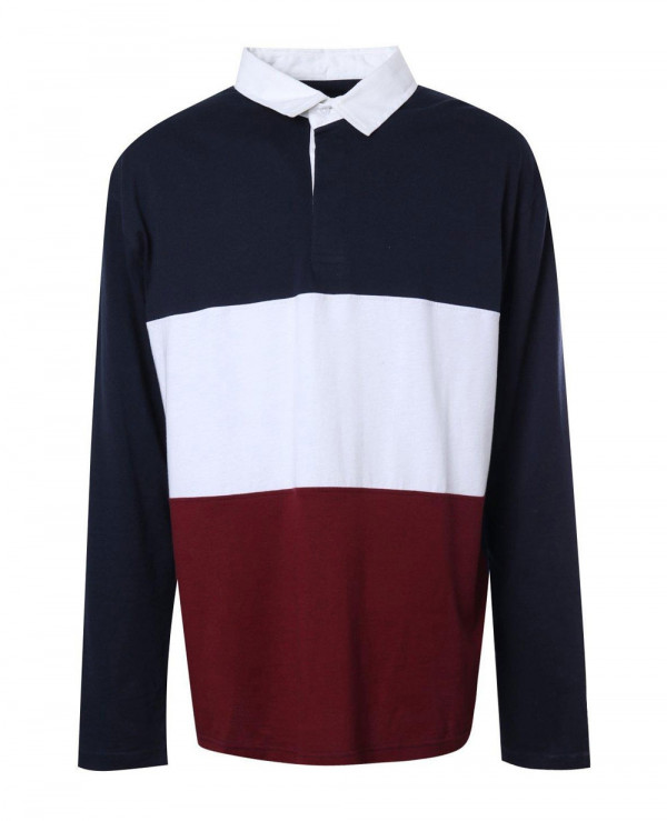 Big-And-Tall-Colour-Block-Jersey-Polo-Shirt