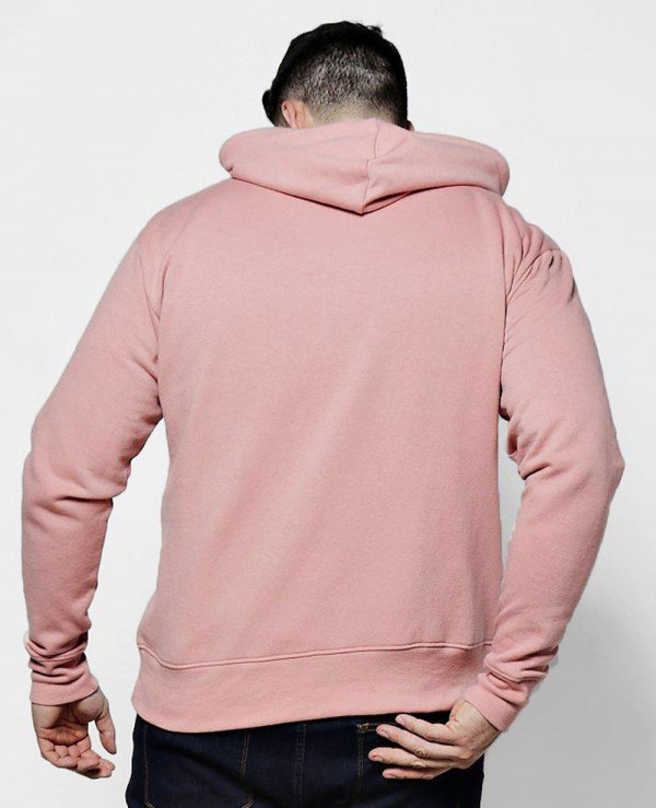 Big-And-Tall-Half-Zip-Over-The-Head-Hoodie