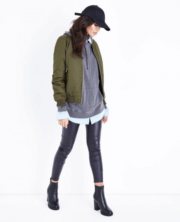 Blue-Vanilla-Green-Satin-Bomber-Varsity-Jacket
