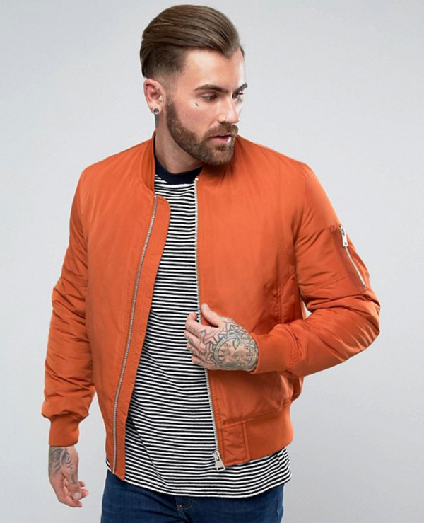Bomber-Jacket-with-Pocket-in-Rust