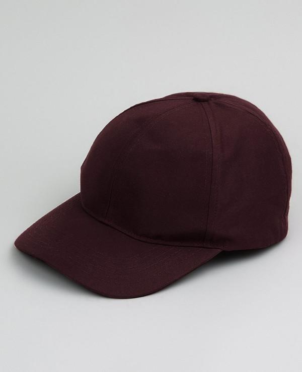 Burgundy-Cap
