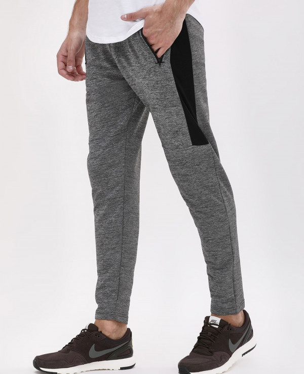 Contrast-Side-Panel-Knitted-Joggers