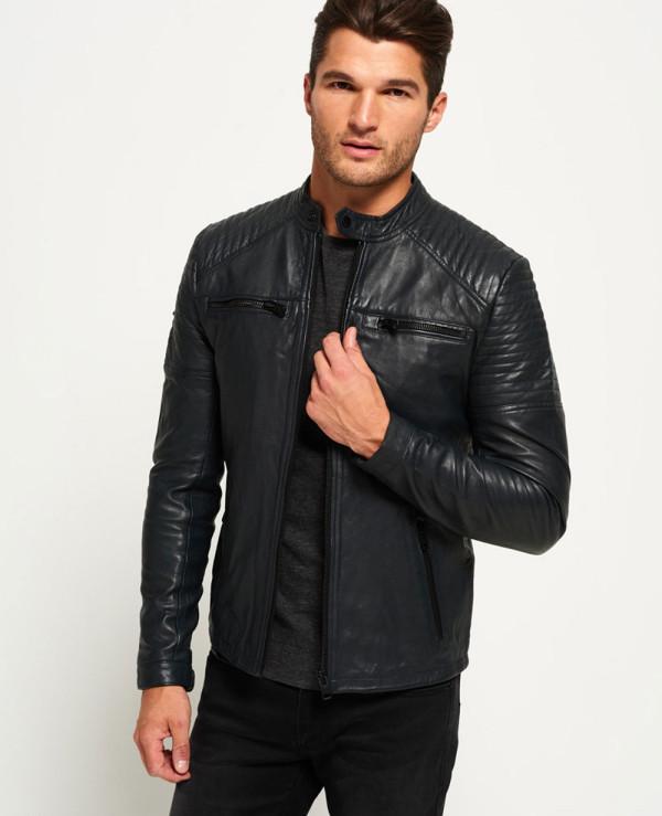 Custom-Biker-Leather-Quilt-Racer-Jacket