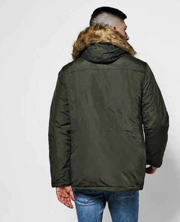 Faux-Fur-Hood-Trim-Parka-Windbreaker-Jacket