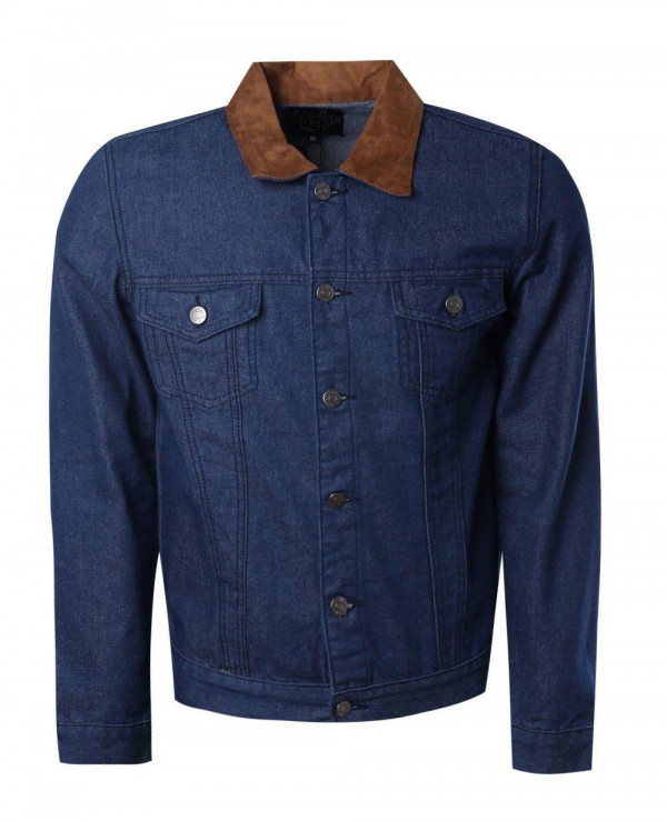 Faux-Suede-Collar-Denim-Trucker-Jacket