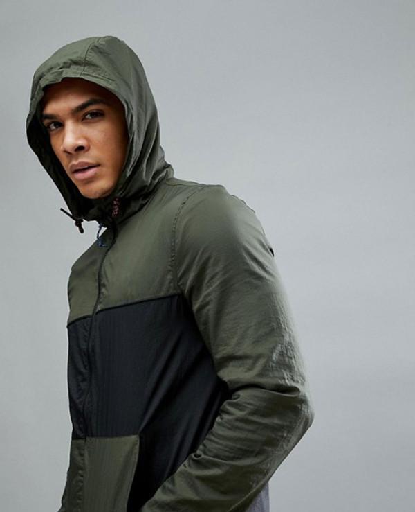 Fitness-Baxter-Water-Resistant-Windbreaker-Jacket-In-Green