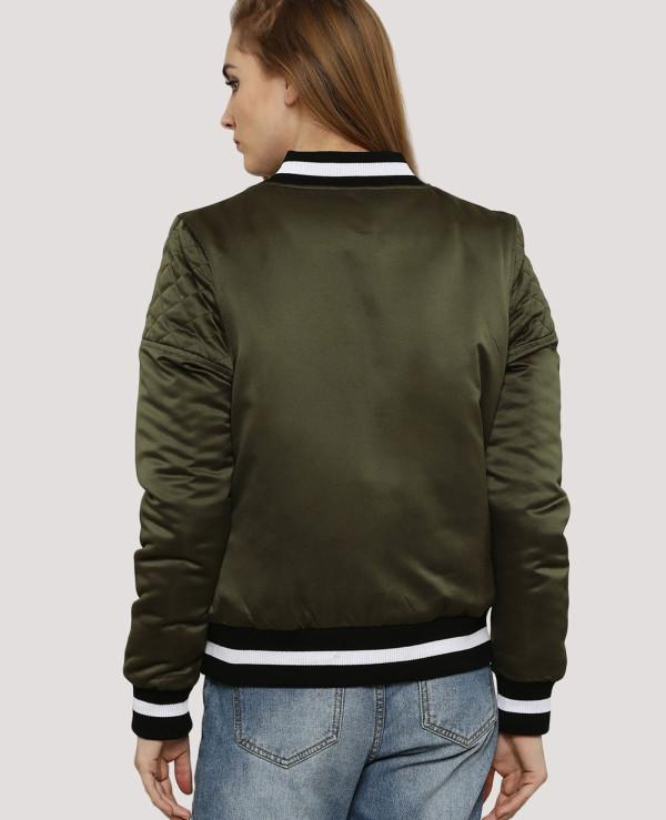 Green-Contrast-Trim-Bomber-Varsity-Jacket