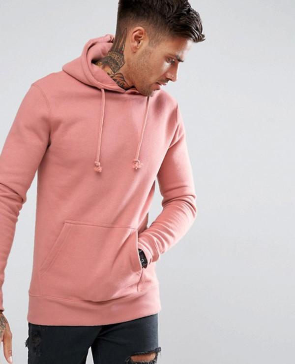 Gym-Fit-Hot-Selling-Men-Hoodie-In-Pink