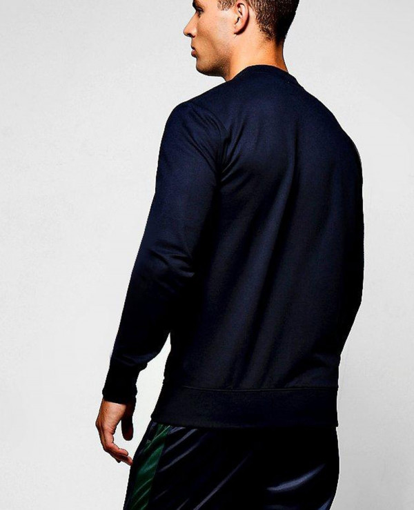 Gym-Slim-fit-Jersey-Bomber-Varsity-Jacket