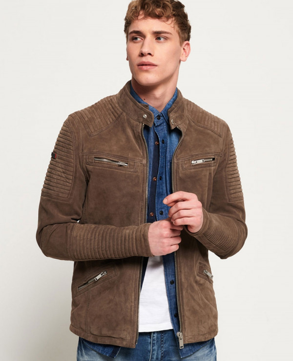 High-Quality-Men-Custom-Premium-Suede-Racer-Jacket