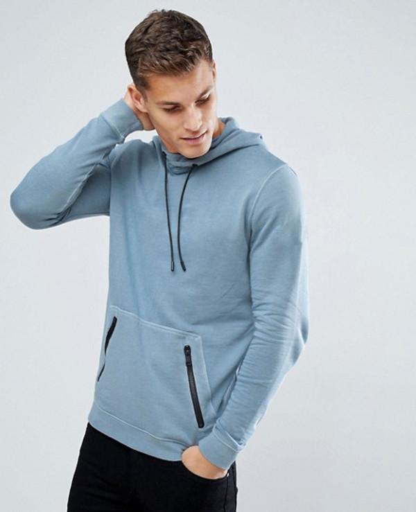 Hoodie-In-Washed-Blue-With-Contrast-Trims