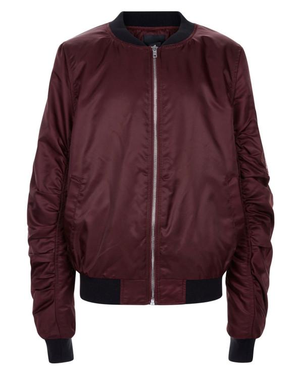 Hot-Selling-Burgundy-Satin-Bomber-Varsity-Jacket