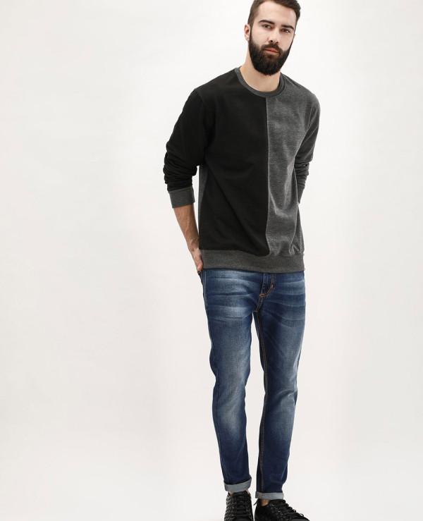 Hot-Selling-Men-Colour-Block-Crew-Neck-Sweatshirt