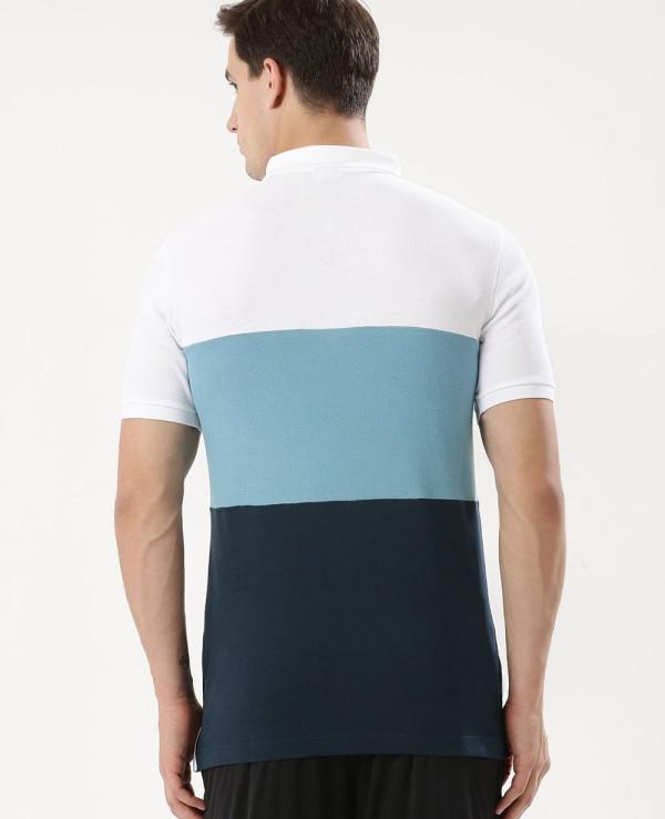 Hot-Selling-Men-Colour-Block-Polo-Shirt