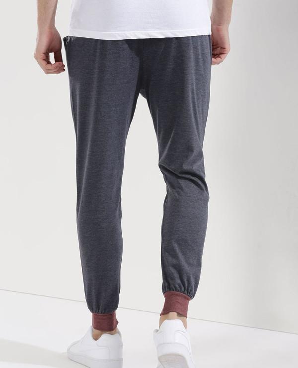 Hot-Selling-Men-Contrast-Panel-Sweatpant-Jogger