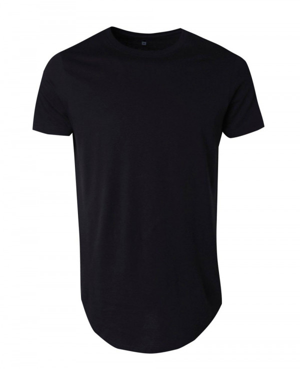 Hot-Selling-Men-Longline-Scoop-Hem-T-Shirt