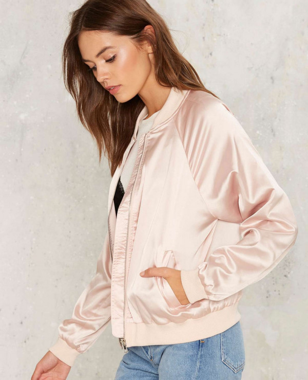 Hot-Women-Fashionbal-Shine-On-You-Crazy-Bomber-Varsity-Jacket