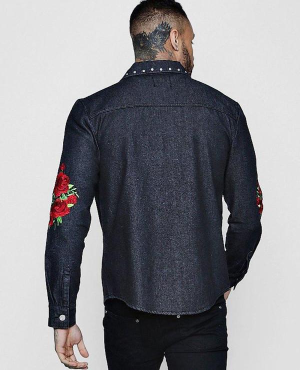 Long-Sleeve-Rose-Embroidered-Denim-Shacket