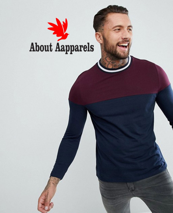Long-Sleeve-With-Contrast-T-Shirts