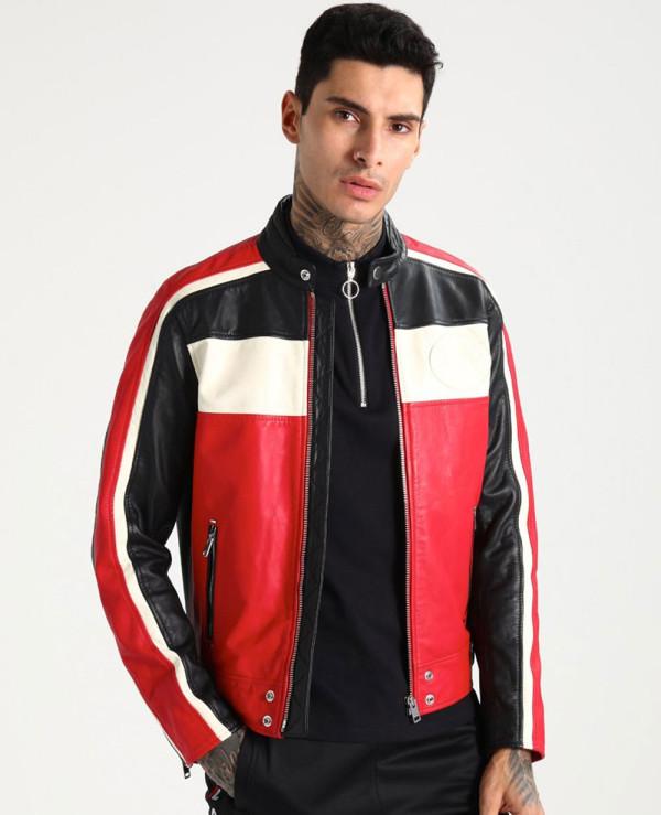 Men-Biker-Hot-Selling-Stylish-Leather-Jacket