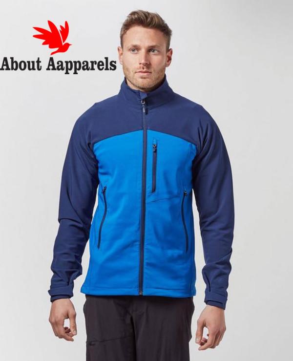 Men-Blue-Custom-Softshell-Jacket
