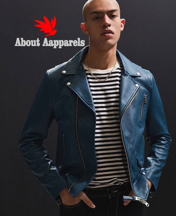 Men-Blue-High-Class-Biker-Real-Leather-Moto-Jacket