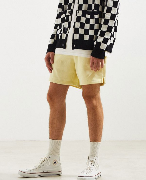 Men-Cotton-Fleece-Volley-Short