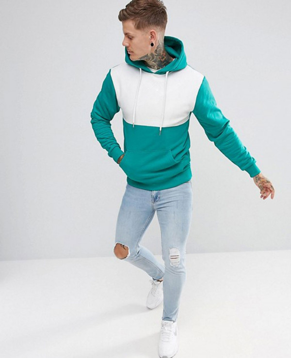 Men-Custom-Made-About-Apparels-Hoodie-In-Teal-With-Panel