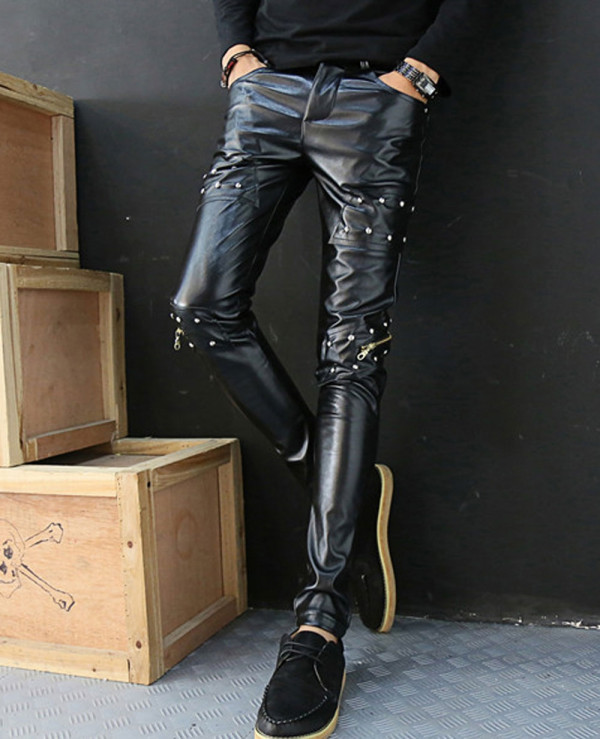 Men-Faux-Leather-Pants-Nightclub-Skinny-Pencil