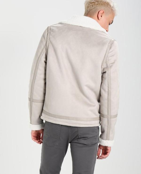Men-Fur-Faux-leather-jacket