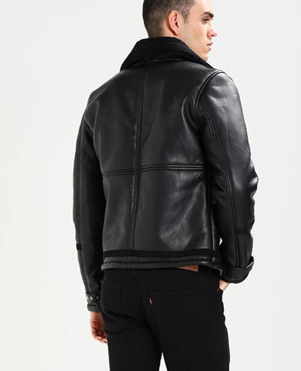 Men-High-Quality-Custom-Fur-Faux-Leather-Jacket