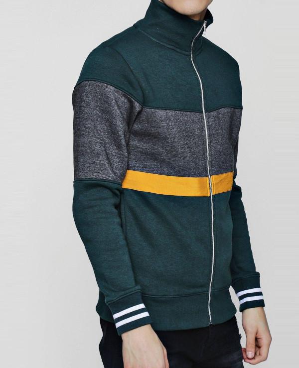 Men-High-Quality-Custom-Raglan-Sleeve-Textured-Sweater-Sweatshirt