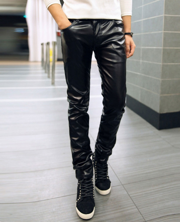 Men-High-Quality-Real-Leather-Bikers-Pants