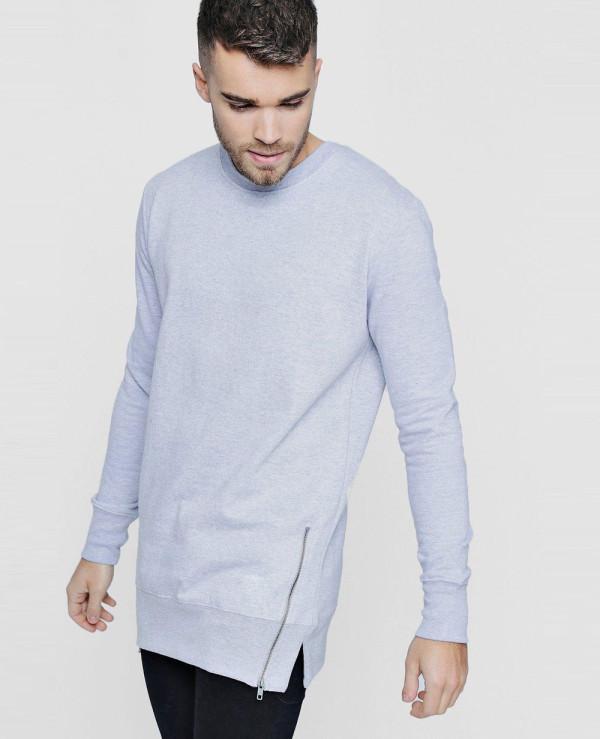 Men-Longline-Sweater-With-Zipper-Detail-Sweatshirt