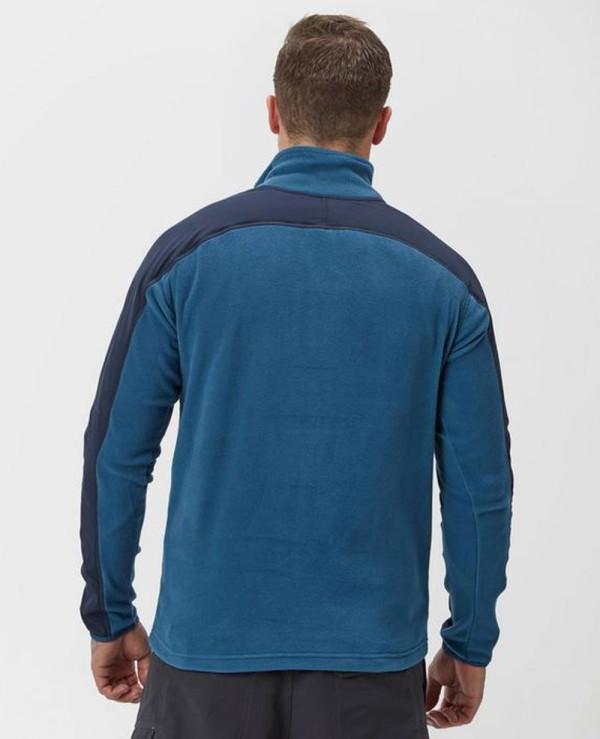 Men-Quarter-Zipper-Fleece-Jacket