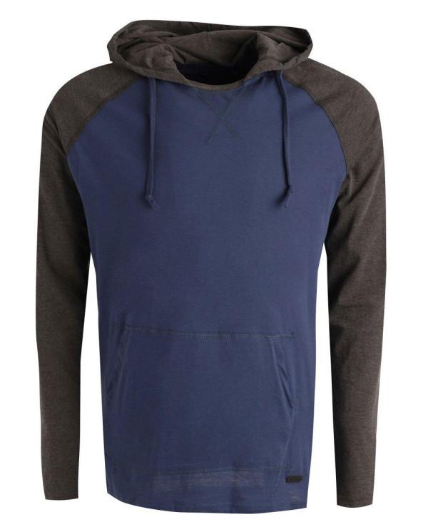 Men-Raglan-Sleeve-Lightweight-Blue-and-Grey-Hoodie