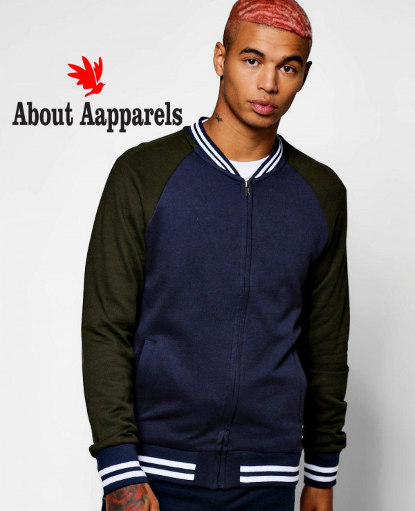 Most-Selling-Men-Fashion-Colour-Block-Jersey-Bomber-Sweat-Jacket