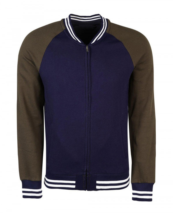 Most-Selling-Men-Fashion-Colour-Block-Jersey-Bomber-Sweat-Jacket