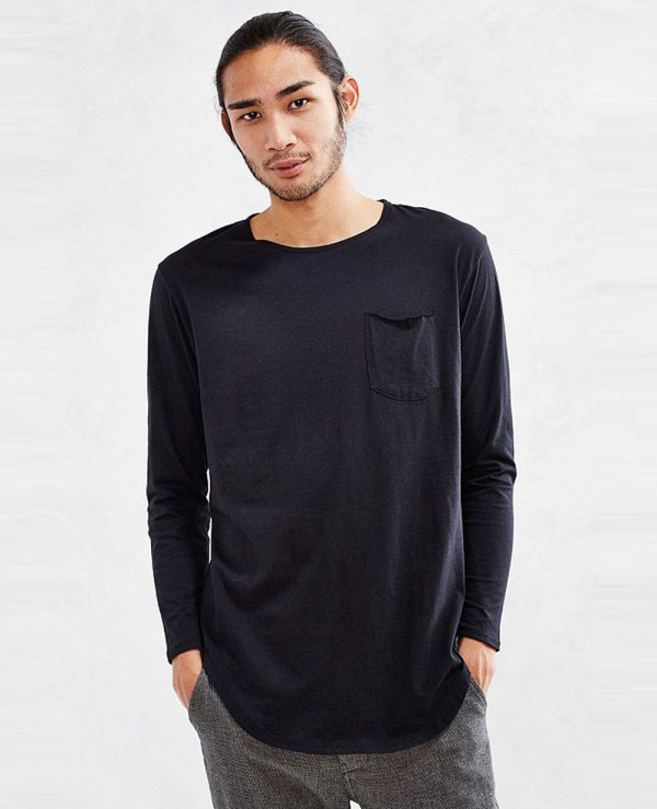 Most-Selling-Men-Stylish-Curved-Hem-Long-Sleeve-Tee